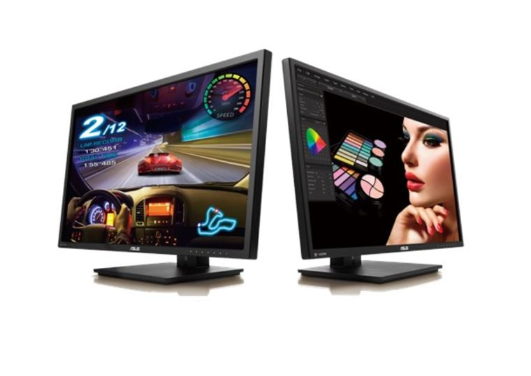 "ASUS PB27UQ Professional 27"" 4K UHD monitor with 3840 x 2160"