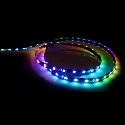 ASUS ROG Addressable LED Strip with magnetic backing and Aura Sync RGB -  60cm