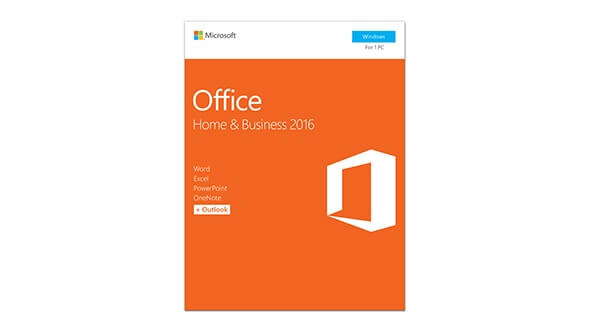 Microsoft Office Home & Business 2016 (32/64 BIT), Retail Box, Word, Excel,  Powerpoint, Outlook & Onenote