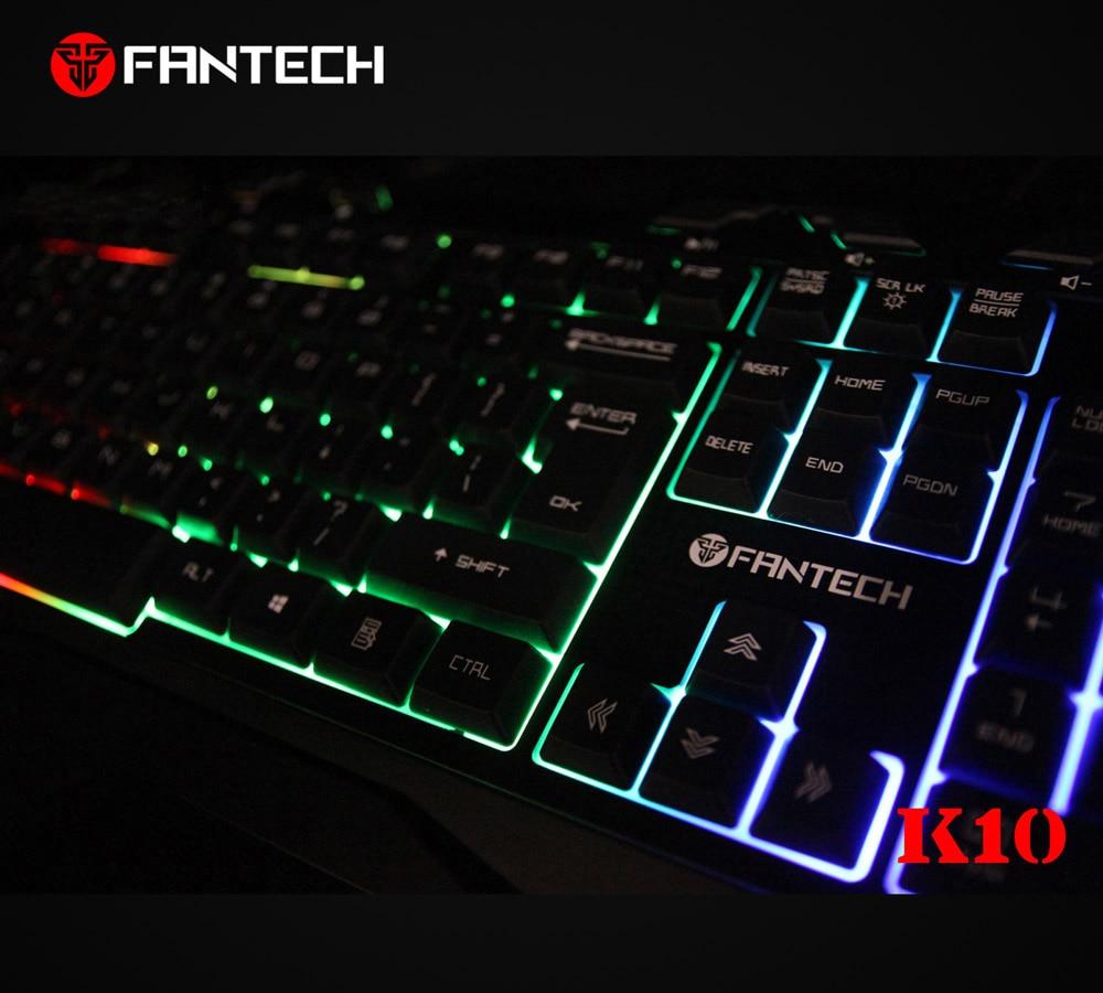 cee722e30e5 Fantech Hunter K10 Backlit Pro Gaming Keyboard - Storm Computers ...