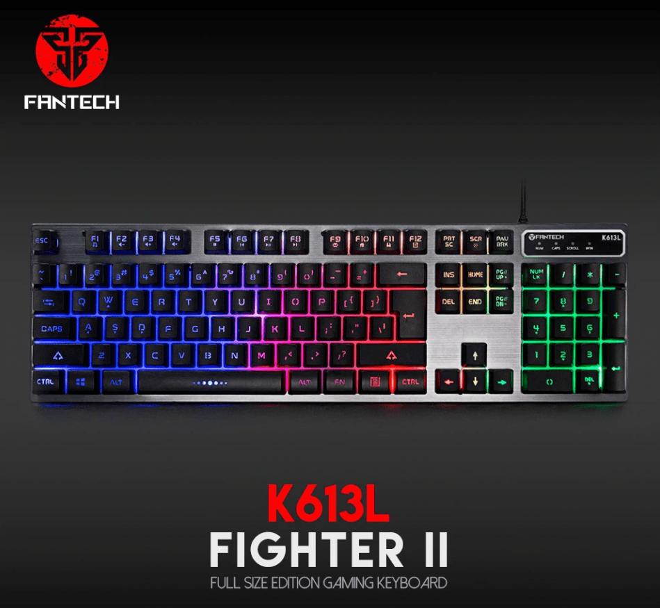 d931f2e44c8 Fantech K613L FIGHTER II Professional Usb Game Backlit Keyboard ...