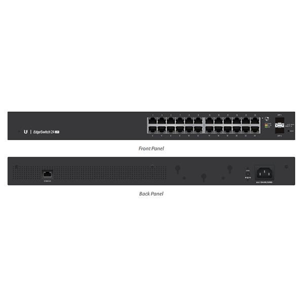 Ubiquiti EdgeSwitch Managed Gigabit Switch 24 Port with SFP 24 Port  ES-24-LITE-AU